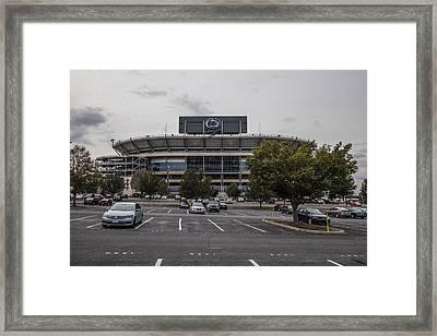 Beaver Stadium Penn State  Framed Print by John McGraw
