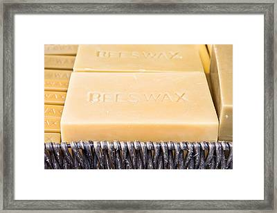 Beeswax  Framed Print by Tom Gowanlock