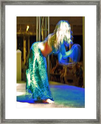 Belly Dance Framed Print by Andy Za