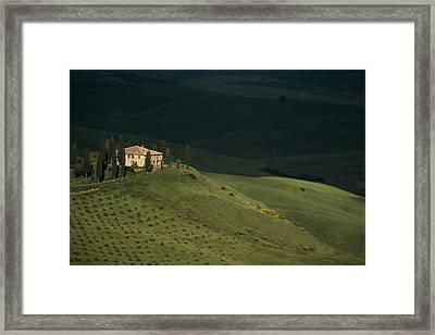 Belvedere House Framed Print by Andrew Soundarajan