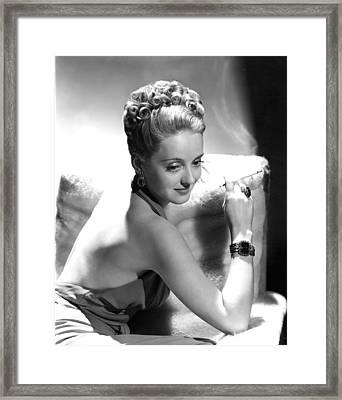 Bette Davis Framed Print by Everett