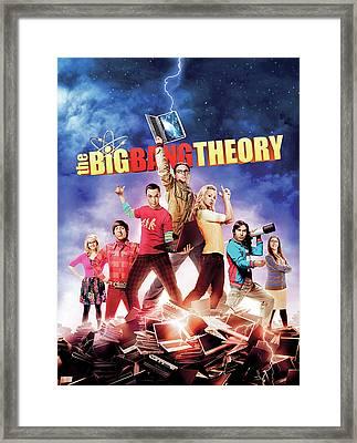 Big Bang Theory 2007 Framed Print by Caio Caldas