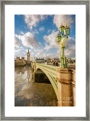 Big Ben London Framed Print by Adrian Evans