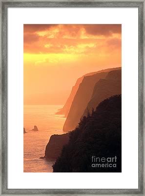 Big Island, View Framed Print by Greg Vaughn - Printscapes