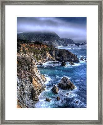 Big Sur Framed Print by Anthony Citro