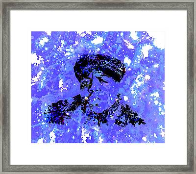 Biggie Smalls Framed Print by Brian Reaves