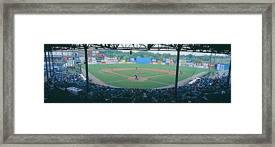 Bill Meyer Stadium, Aa Southern League Framed Print by Panoramic Images