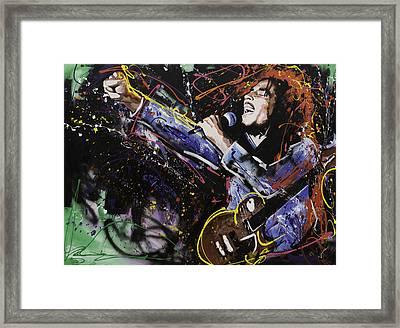 Bob Marley Framed Print by Richard Day