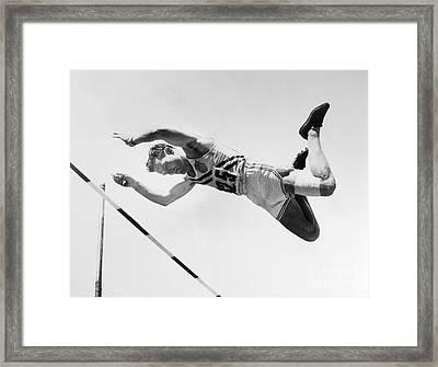 Bob Richards (1926- ) Framed Print by Granger