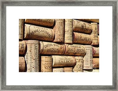 Bordeaux Framed Print by Anthony Jones