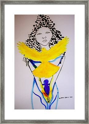 Born Again Framed Print by Gloria Ssali