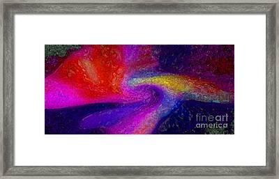Bottom Of The Ocean Framed Print by Mimo Krouzian