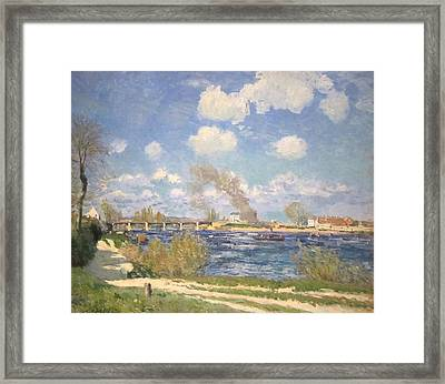 Bougival Framed Print by MotionAge Designs