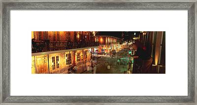 Bourbon Street, French Quarter, New Framed Print by Panoramic Images