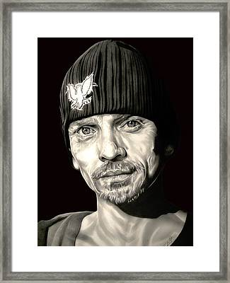 Breaking Bad Skinny Pete Framed Print by Fred Larucci