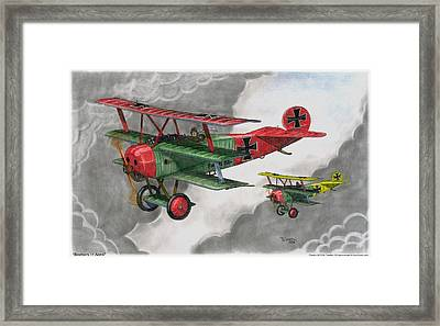 Brothers In Arms Framed Print by Trenton Hill