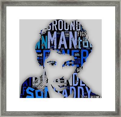 Bruce Springsteen Born In The Usa Framed Print by Marvin Blaine