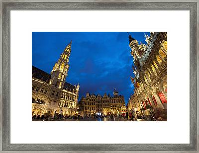 Brussels, Belgium Framed Print by Axiom Photographic