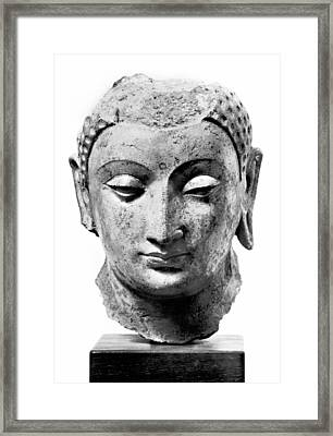 Buddha, 4th-7th Century Framed Print by Granger