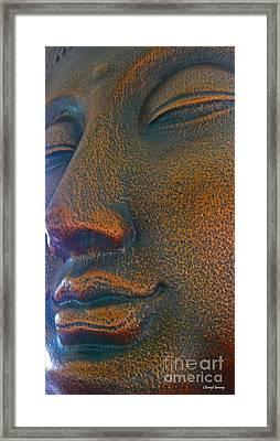 Buddha  Framed Print by Cheryl Young