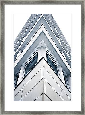 Building Detail Framed Print by Tom Gowanlock