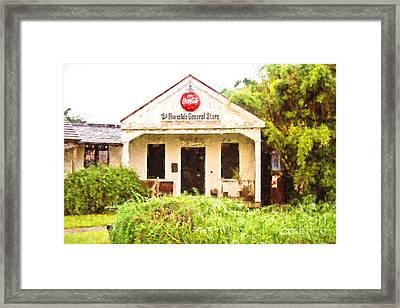 Burnside General Store Framed Print by Scott Pellegrin