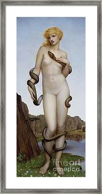Cadmus And Harmonia Framed Print by Evelyn De Morgan