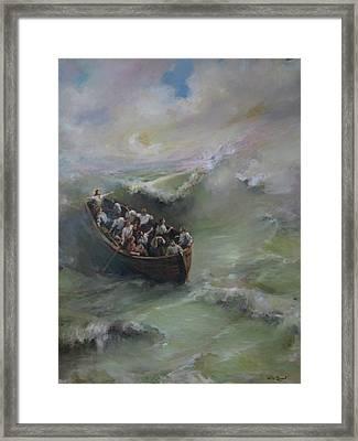 Calming The Storm Framed Print by Tigran Ghulyan
