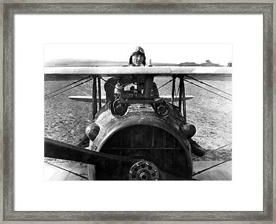 Captain Eddie Rickenbacker  Framed Print by War Is Hell Store