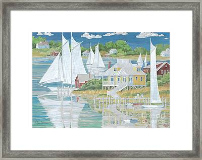 Captain's Home Framed Print by Paul Brent