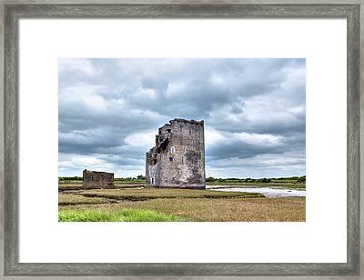 Carrigafoyle Castle - Ireland Framed Print by Joana Kruse