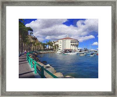 Casino Runner Framed Print by Snake Jagger