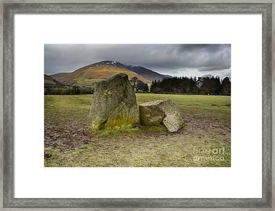 Castlerigg Stone Circle Framed Print by Stephen Smith