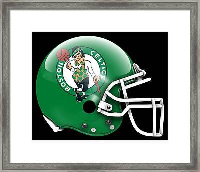 Celtics What If Its Football Framed Print by Joe Hamilton