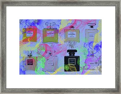 Chanels  Framed Print by To-Tam Gerwe