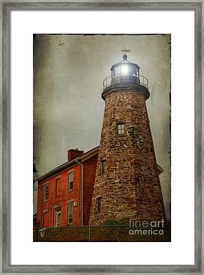 Charlotte Genesee Lighthouse Framed Print by Joel Witmeyer