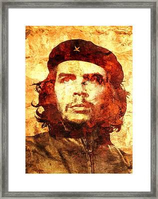 Che Guevara Framed Print by Jose Espinoza