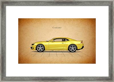 Chevrolet Camaro Framed Print by Mark Rogan