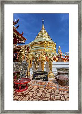 Chiang Mai Temple Framed Print by Adrian Evans