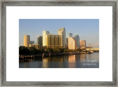 City By The Bay Framed Print by David Lee Thompson