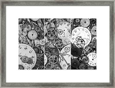 Clockworks Still Life Framed Print by Tom Mc Nemar