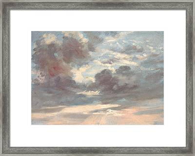 Cloud Study - Stormy Sunset Framed Print by Mountain Dreams
