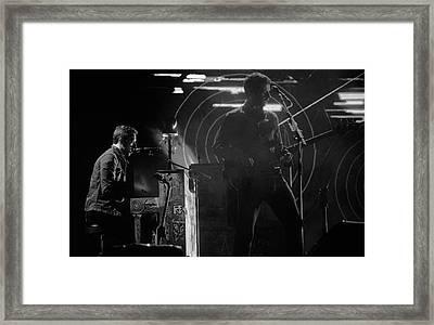 Coldplay9 Framed Print by Rafa Rivas