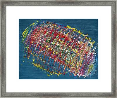 Color In Motion Framed Print by Michael Runner