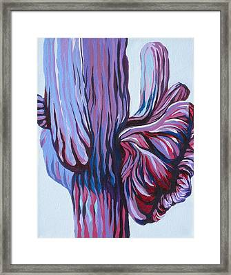 Color Me Purple Framed Print by Sandy Tracey