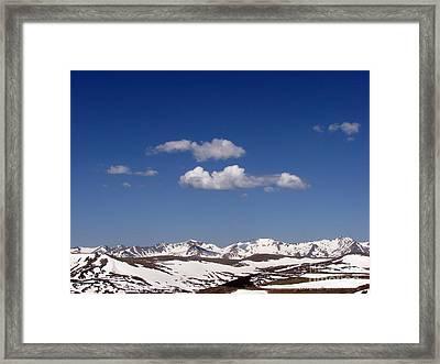 Colorado Framed Print by Amanda Barcon