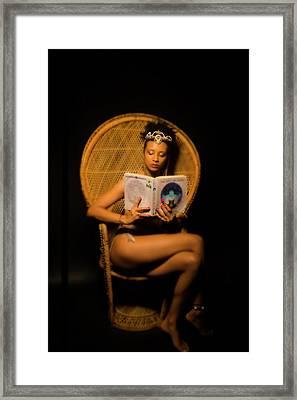 Crown And Veil Framed Print by Iysha Medley