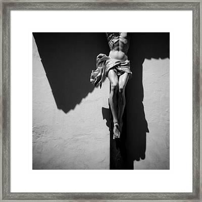 Crucifixion Framed Print by Dave Bowman