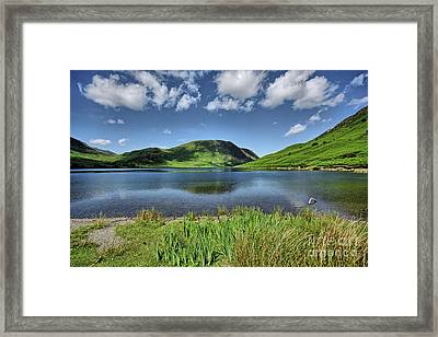 Crummock Water Framed Print by Stephen Smith