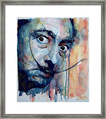 Dali Framed Print by Paul Lovering